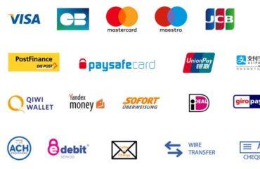 Les moyens de paiement de votre boutique en ligne