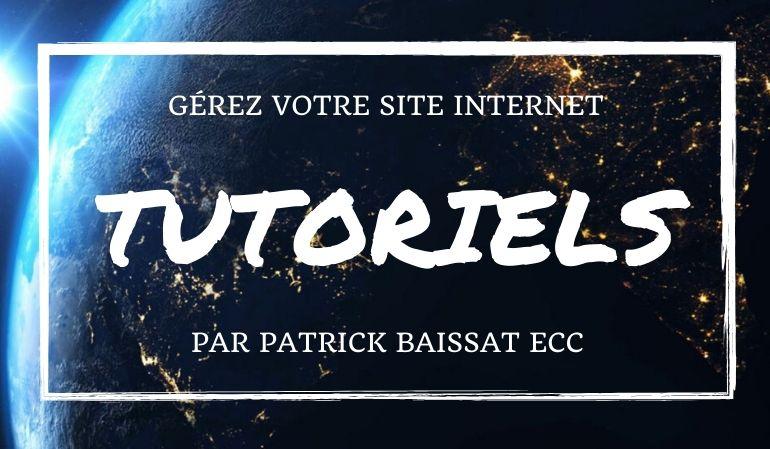 Tutoweb Apprenez à gérer votre site internet vitrine et boutique en ligne